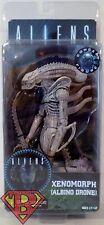 "ALBINO DRONE XENOMORPH Aliens 7"" inch Scale Movie Figure Series 9 Neca 2016"