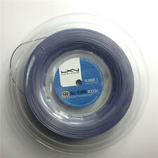 Luxilon Big Banger Alu Power Rough 125 Tennis Strings 200M Reel 1.25mm Silver