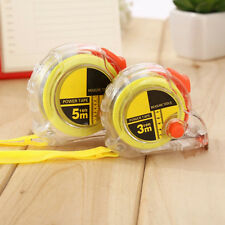 Cute Housing Retractable Metric Range Steel Tape Measure Ruler Multifunction