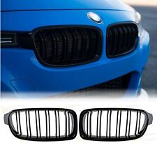 2X Black Grill Grille For 2012 2013 2014 2015 BMW F30 320i 328i 335i Sedan Wagon
