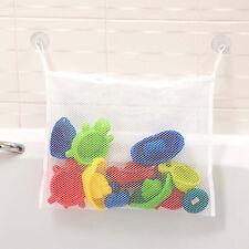 NEU Baby Badewanne Spielzeug Tasche Saugnäpfe einfache Montage Netz Tasche MIDE