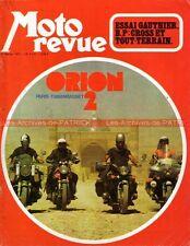 MOTO REVUE 2113 GAUTHIER 125 BP Elan Flandria Ancillotti BSA Raid ORION 1973