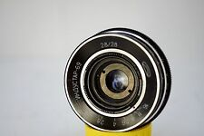 INDUSTAR - 69 2.8/28mm Rangefinder Wide Angle lens M39 MADE IN USSR
