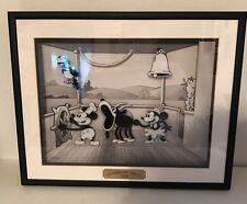 1998 Disney Animated Animation Steamboat Willie 1928 Mickey Mouse Motion Art