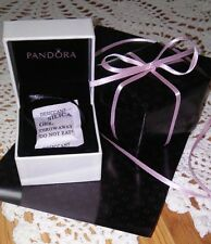 "NEW AUTHENTIC PANDORA JEWELRY BEAD/CHARM ""GIFT BOX W/SLEEVE & GIFT WRAP W/RIBBON"