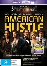 American Hustle [ DVD ] Region 4, LIKE NEW, FREE Next Day Post...7979