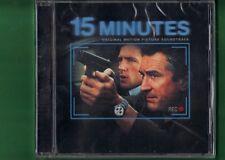 15 MINUTES OST COLONNA SONORA 15 MINUTI FOLLIA OMICIDA A N.Y CD NUOVO SIGILLATO