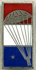 "WWII ""Saved for America"" by J.G.Menihan Chute ""Sterling ""Bailout"" Pin-Orig. Case"
