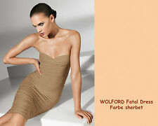 WOLFORD FATAL DRESS • sherbet • S • Rock / Kleid / Top ....aus exklusivem Velvet
