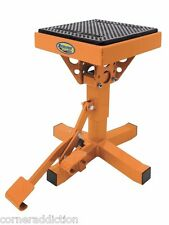 P-12 Adjustable Lift Stand ORANGE Motorcycle Motocross MX Dirtbike Enduro