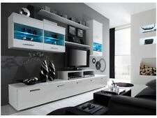 Paris 5 TV Unit/ White gloss tv units/ Modern Wall Units/ TV Cabinets/ TV Stands
