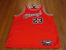 Authentic Nike Flight 8403 Chicago Bulls Michael Jordan Away Jersey sz 52 2XL