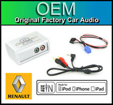 Renault Clio AUX in lead Car stereo iPod iPhone player adapter connection kit