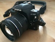 Olympus EVOLT E-410 10,0 MP Digitalkamera - Schwarz (Kit mit 14-42mm Objektiv)