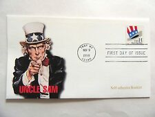 """November 9th, 1998 """"Uncle Sam"""" First Day Issue Lot G"""
