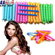 20PCS 55/65CM Hair Rollers DIY Curlers Large Magic Circle Wave Curls Salon Tools