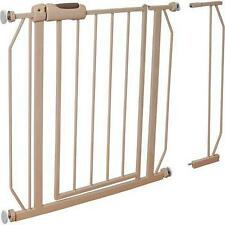 NEW Evenflo Easy Walk-Thru Safety Metal Gate for Baby Toddler Pet Child Doorway