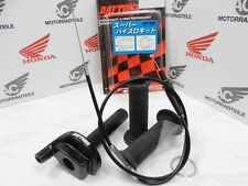 "Daytona 1 Wire Alu Racing Throttle Kit Black 7/8""  incl Throttle Wire Super High"