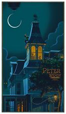 Peter Pan GID Variant Screen Print Poster by Mondo Artist Laurent Durieux No./75