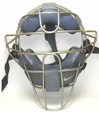 Nike Titanium Catchers Umpires Mask Navy Blue Pro Issue