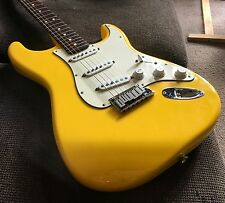Fender Stratocaster Strat USA 2002 Super Rare Graffiti Yellow