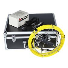Size 45MMx23MM Sewer Pipeline Inspection Camera System Drain Pipe Snake Monitor
