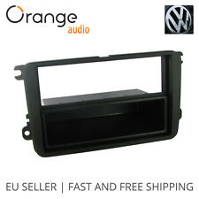 VW Touran Faceplate Single Din Fitting Fascia Car stereo 2004 - onwards