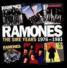 The  Sire Years 1976-1981 [Box] by Ramones (CD, Oct-2013, 6 Discs, Warner Bros.)