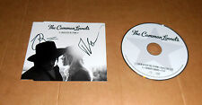 The Common Linnets, original signed CD-Cover *Calm After The Storm* + CD, RAR