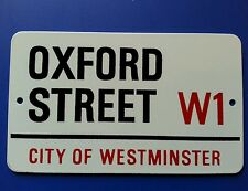 Vintage Style Retro Metal Sign London Road Signs UK England British
