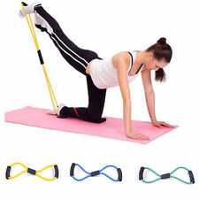 Exercise Latex Resistance Bands Tube Workout Gym Yoga Fitness Stretch ABS