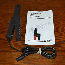 AEMC SL261 AC/DC Current Probe, 100mA-100A, Great Shape, Several Available