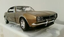 1:18 GMP ACME 1967 CHEVROLET CAMARO GOLD FRANKLIN MINT  102 MADE