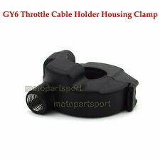 Throttle Cable Holder Housing Clamp For Gy6 50cc 125 150 cc Engine Scooter Moped