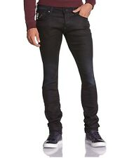 G Star Defend Super Slim Stretch Jeans in DK Aged Slander Denim, Size W34/L32