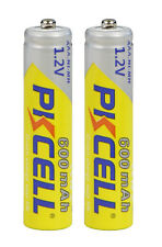 2x PKCELL Batteries AAA Micro 600 mAh NiMH pour Siemens Gigaset AS28H AS28 S810