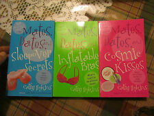 Lot of 3 books by Cathy Hopkins Mates, Dates and Cosmic Kisses