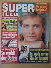 SUPER ILLU 41 - 6.10. 1994 Olaf Berger Henry Maske Satori Petra Ziegler