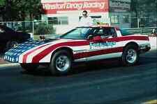metal sign 573013 a sleek corvette shows off its patriotic paint job a4 12x8 alu