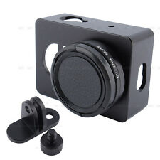 Aluminum Protective Case Frame Shell Lens Cover Mount For Xiaomi Yi Camera