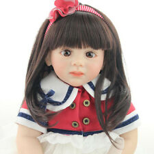 Reborn Baby Doll Lifelike Girls Vinyl Toys Cute Bebe Toddler Collection 24 inch