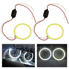1pc 60mm COB 66 Chips Car Angel Eyes Headlight Halo Ring Decorative Light White