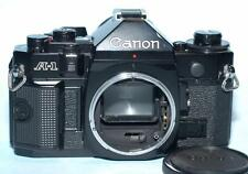 Canon A-1 35mm manual focus film camera body A1 - Nice Mint-!