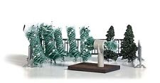 NEW HO Busch 1182 Christmas Tree Lot KIT for 1:87 scale Diorama