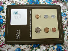 Coin Sets of All Nations Burma 1966 - 1983 UNC 10P stamp w/card