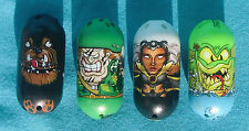 Mighty Beanz by Moose, 20 Storm, 41 Loch Ness Monster, 53 Commando 59 Rottweiler