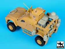 Black Dog 1/35 Oshkosh M-ATV MRAP WIN-T Inc.1 Set with Equipment (Panda) T35150