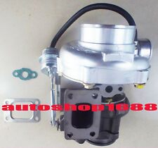 """GT30 GT3076 T25 A/R .70 A/R .86 wastegate water&oil 2.5"""" v-band turbocharger NEW"""