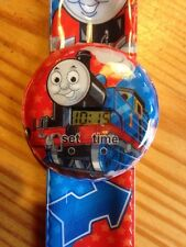 Thomas The Tank Engine Kids Digital Wrist Watch Easy Strap Boys Gift Idea
