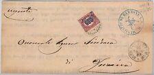 ITALIA REGNO: storia postale - BUSTA da Gardone Val Trompia - annullo NUMERALE